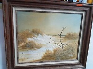 oil painting antique Bryan Keith Smith signed