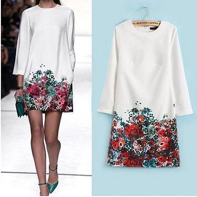 BNWT Sz 10, 12 Elegant Floral Print Dress, Flower Print Dress, Celeb Style Dress
