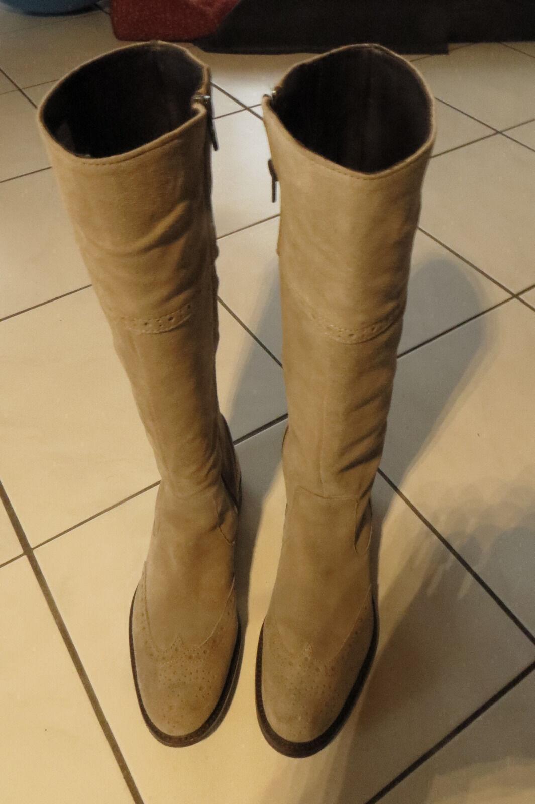 DMN Stiefel Stiefel DMN Gr. 38 braun-grau TOP Zustand b8d468