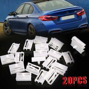 20PCS Sill Side Skirt Clips Trim Clips Fasteners For BMW 3Series E36 E46 E90 E91