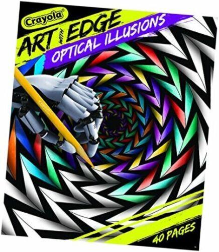 Crayola Optical Illusions Coloring Book Optical Illusions Optical Illusions