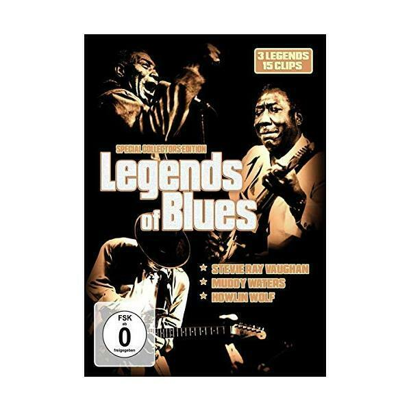DVD - Various Artists - Legends Of Blues (Muddy Waters/Howlin Wolf/Stevie Ray Va