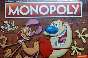 Monopoly Nickelodeon Ren & Stimpy Memories Edition Anglais Nouveau Ovp