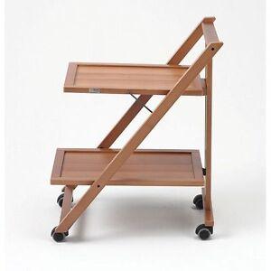 Carrello in legno da cucina/servizio modello SIMPATY 575 di ...