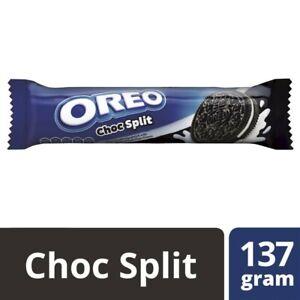 Oreo Creme Biscuits Choc Split 137g