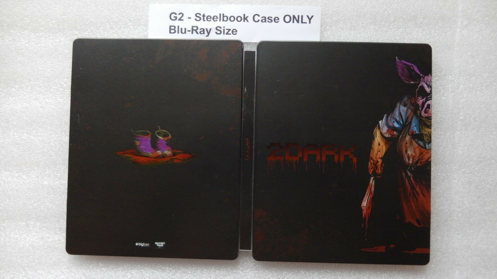 2Dark Steelbook & Artbook ONLY PS4/XBOX ONE (PLEASE READ, NO GAME)