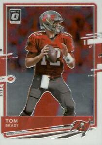 Tom Brady Tampa Bay Buccaneers Panini Donruss 2020 Optic Base #92