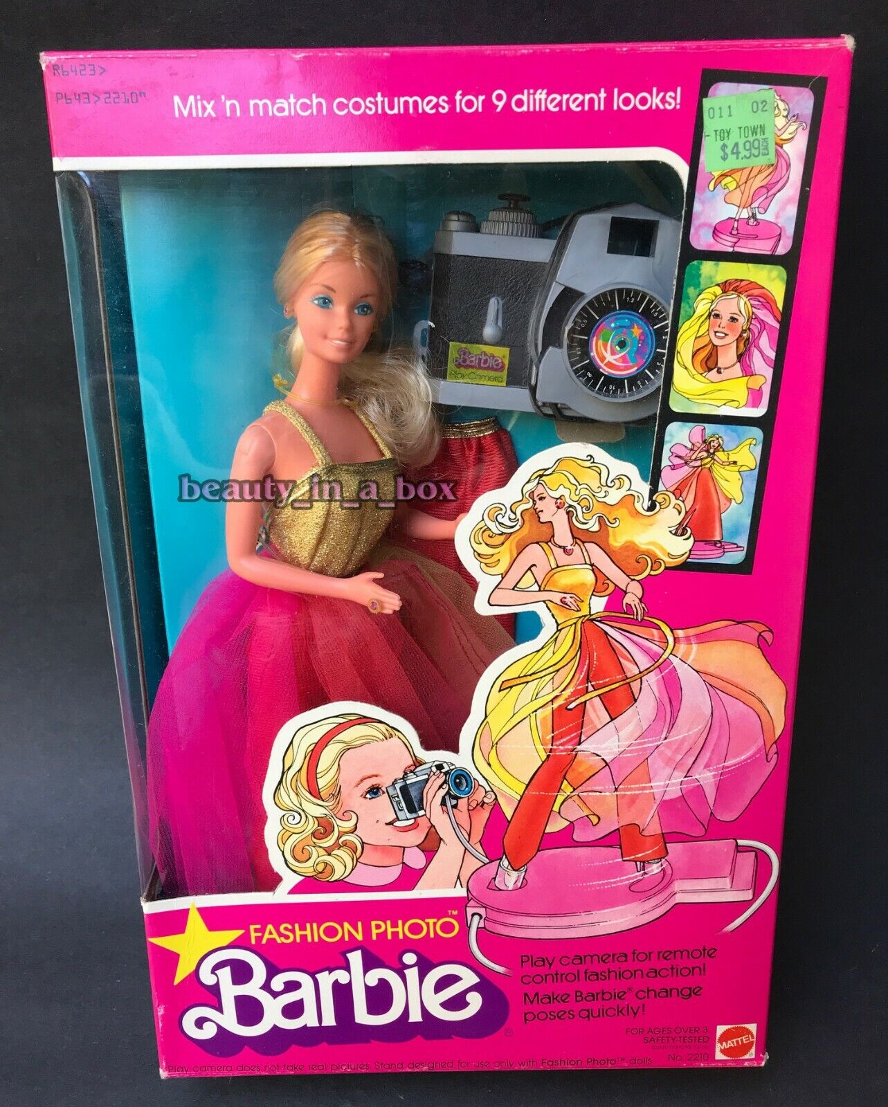 Foto De Moda Muñeca Barbie 1977 Superstar Retro Clásico