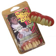 Austin Powers Dentures Hill Billy Fake Teeth Retro Geek Fancy Dress