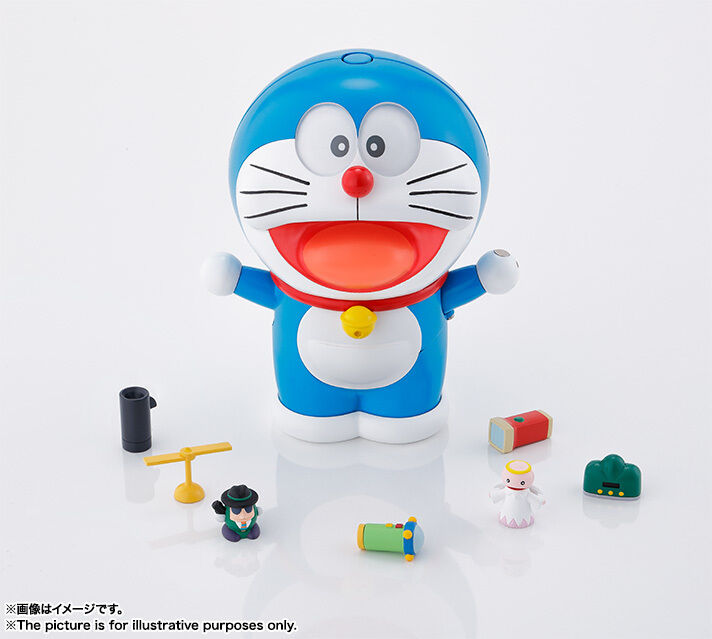 Bandai Doraemon Chogokin Japan GuruGuru Mini-Figure Japan Chogokin Brand New Sealed Rare UK 7d1a33