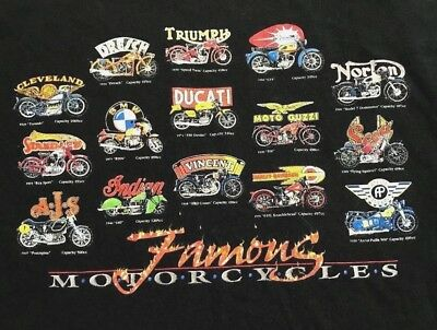 MN Bultaco Cemoto Motorcycle Mens Black T-Shirt Size S-3XL