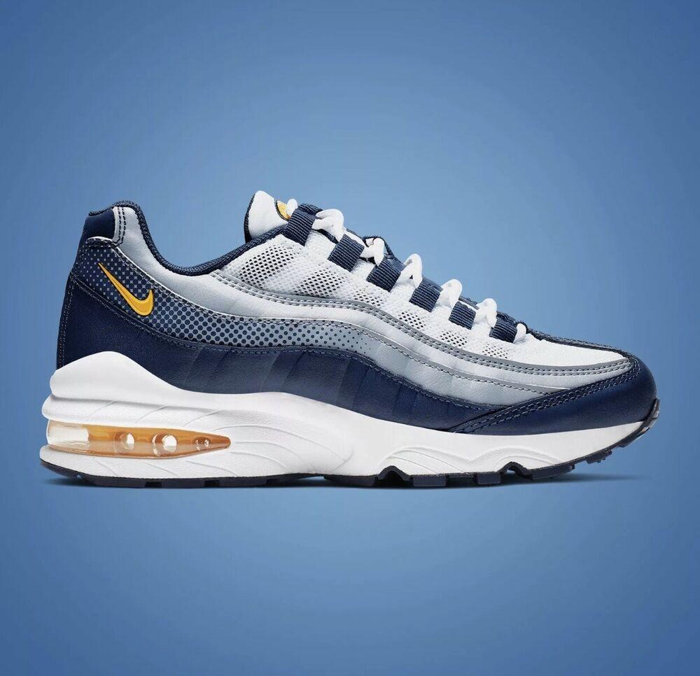 100% De Qualité Nike Air Max 95 Rf ® (royaume-uni Taille 6) Bleu/gris Unisexe Baskets