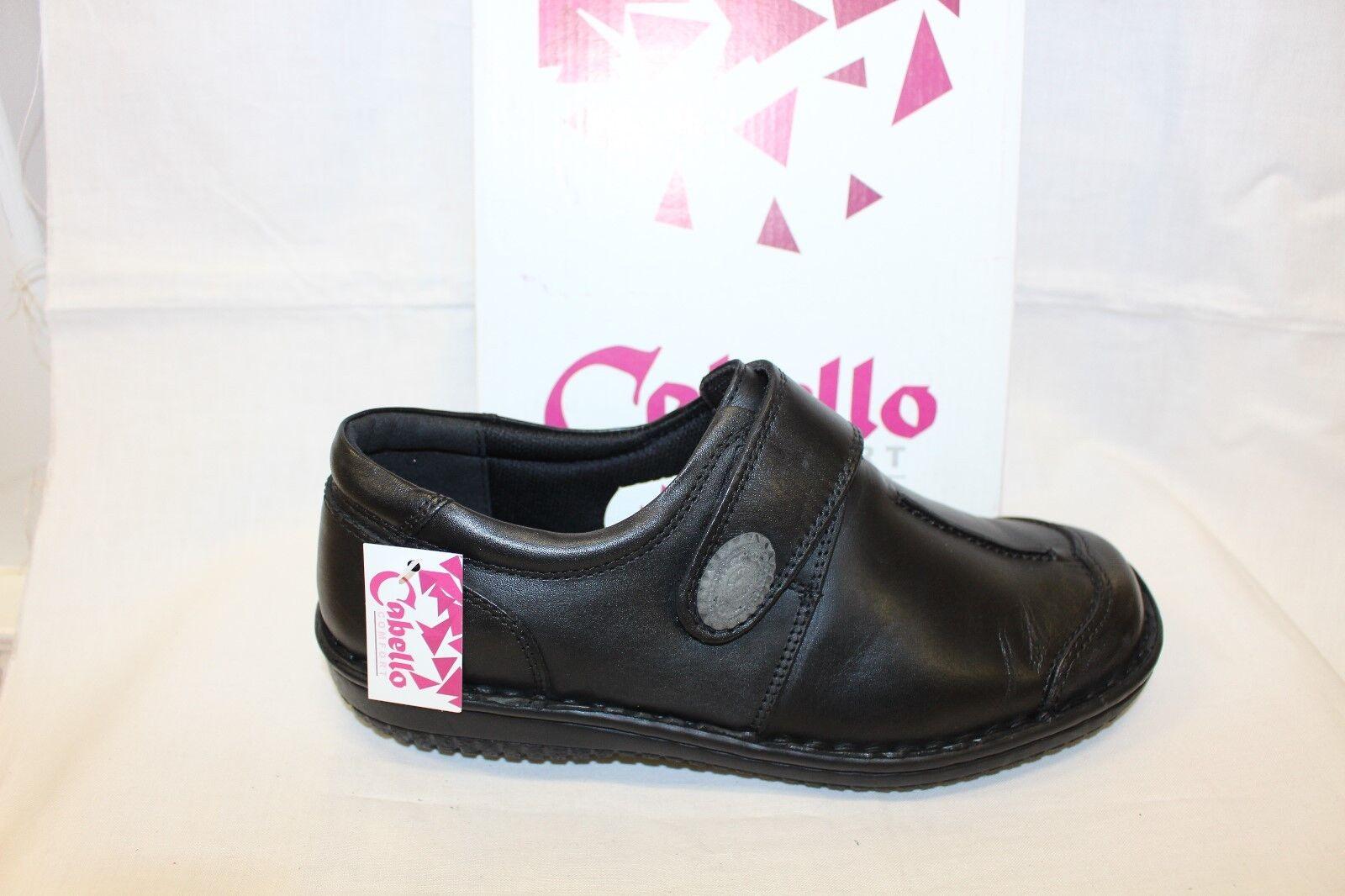 LADIES SHOES/FOOTWEAR - Cabello shoe 5072 black slip on