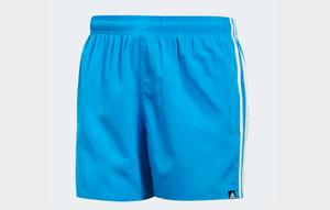 Details zu COSTUME DA BAGNO ADIDAS CV5192 3S SH VSL BLUE WHITE BLU SWIMWEAR PISCINA MARE