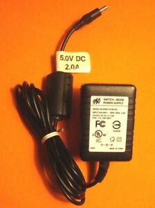 EPAS-101WU-05 OEM ENG SWITCH MODE AC ADAPTER 5V 2 0A FOR HP