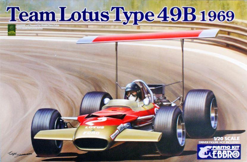 Ebbro 1  20 Team Lotus typ 49B 1969