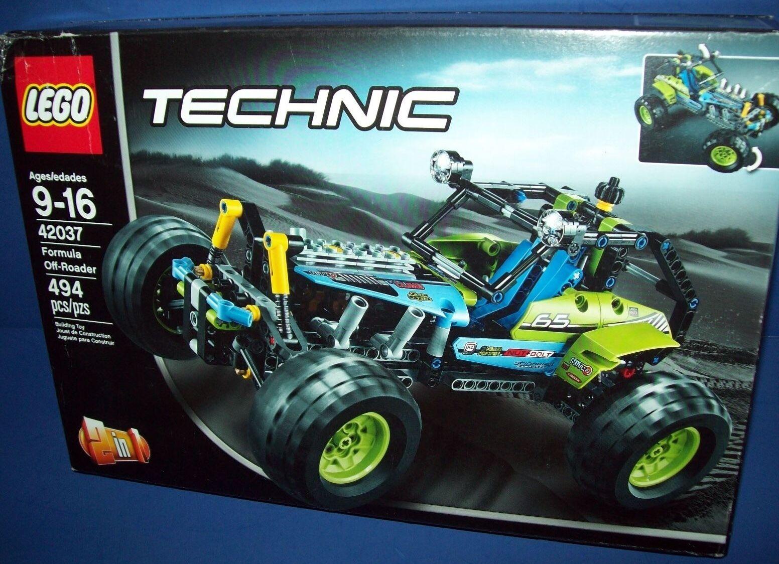 Lego 42037 Technic Formel Off-Roader Alter 9-16 Nisb 2 in 1 Lego