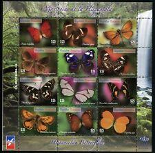 Dominikanische Republik 2014 Schmetterlinge Butterflies Mariposa Papillons MNH