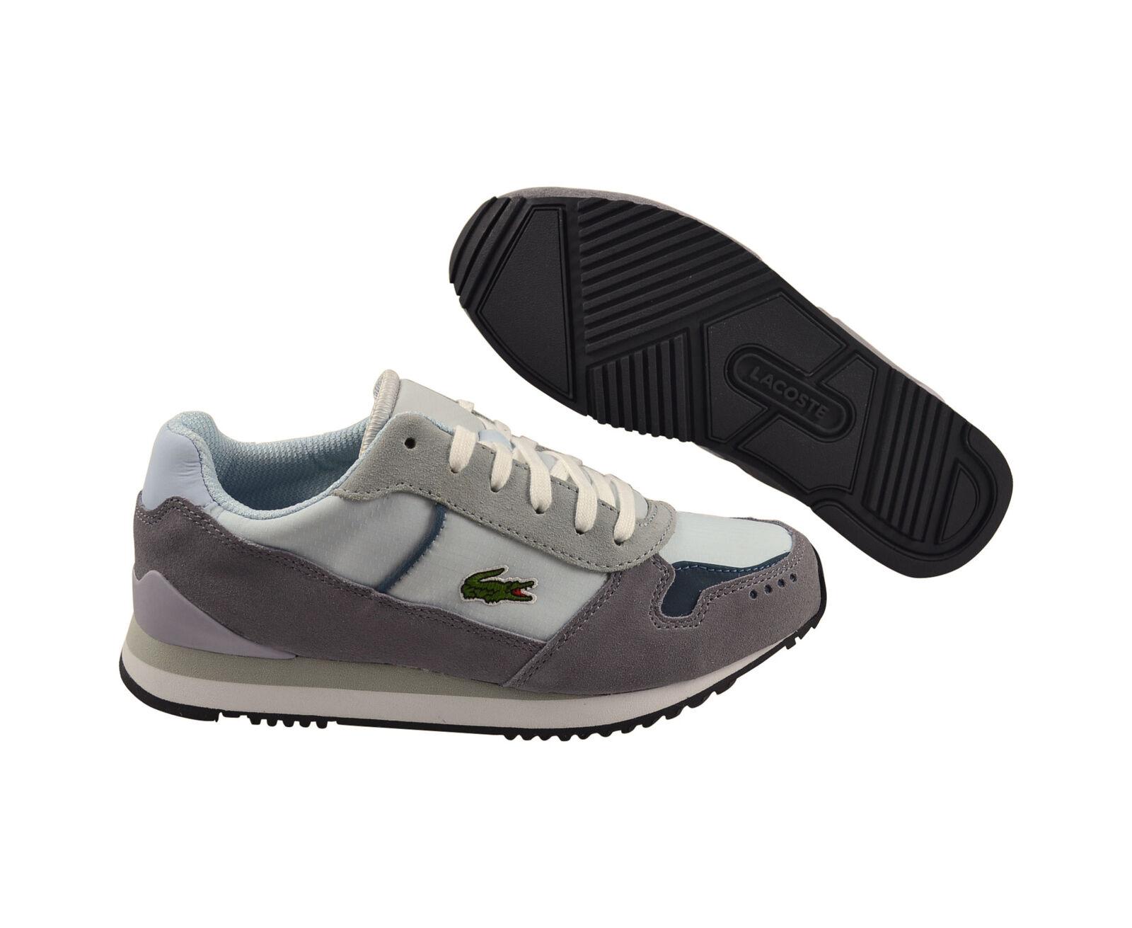 LACOSTE Trajet MR Lew Dark Grey/Blue Scarpe/sneaker Scarpe classiche da uomo