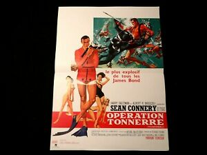 sean-connery-OPERATION-TONNERRE-thunderball-affiche-cinema-007-james-bond