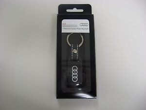 Audi Carbon Fiber Key Chain ZAW087610