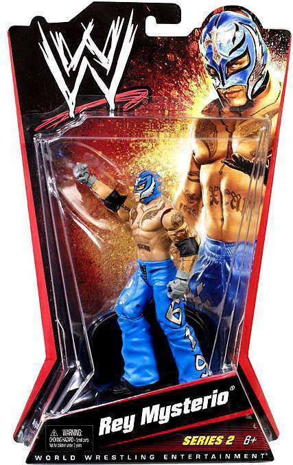 WWE REY MYSTERIO SERIES 2 ACTION FIGURE RARE NEW
