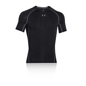 UA Classic HeatGear Compression Under Shirt Black Crew Neck XXL Under Armour