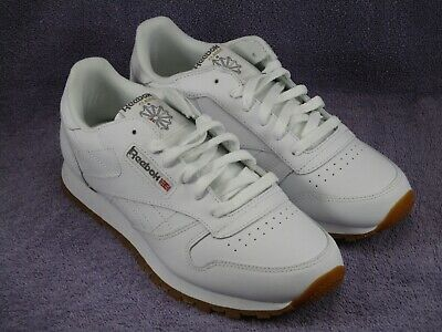 Reebok Classic Leather White Gum Junior Big Kids Running Tennis Shoes V69624