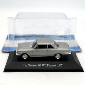 IXO-1-43-IKA-Torino-380-W-2-Puertas-1967-Silver-Diecast-Models-Limited-Edition