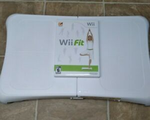 Wii Fit Plus with Balance Board nintendo Wii WORKING AND TESTING