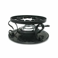 Swissmar Wrought Iron Rechaud With Fondue Burner, New, Free Shipping