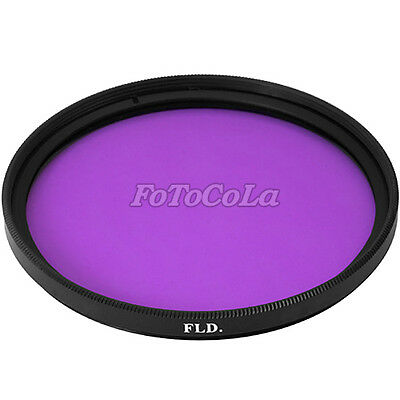 46mm FLD Filter Fluorescent Daylight Correction 46 FL-D Purple For Camera Photo
