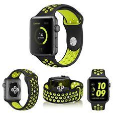 CingoTek Sport Silikon Armband BLACK VOLT für Apple Watch Nike 42mm Neu**