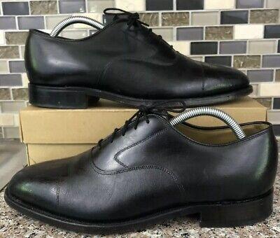 152481 ES50 Men/'s Shoes Size 13 M Black Leather Lace Ups Johnston /& Murphy