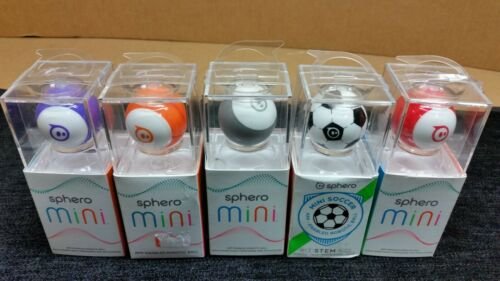 Open Box Sphero Mini App-Enabled Programmable Robot Ball  STEM Educational Mint