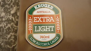 OLD-AUSTRALIAN-BEER-LABEL-KRUGER-BREWERY-MELBOURNE-EXTRA-LIGHT-740ml-2