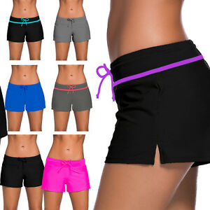 e56f8498958d6 Image is loading New-Women-Ladies-Swim-Pool-Shorts-Swimming-Bikini-