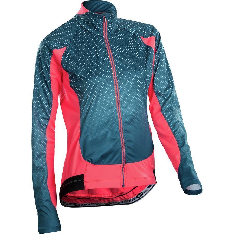 Sugoi RS Zero Jersey Blau Ladies daSie Full Zip Long Sleeve Radfahren Road mtb