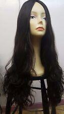 "Malky Human European Hair Wig 28"" Multidirectional Wavy #4 28"" Large"