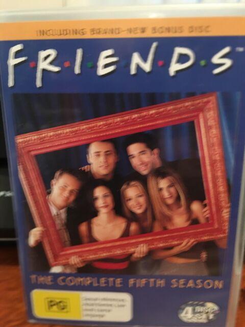 Friends : Series 5 (DVD, 2006, 4-Disc Set) With Bonus Disc Region 4