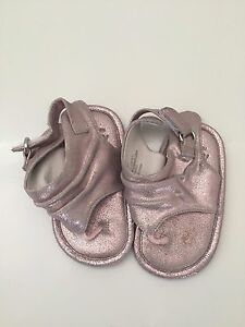 cd5bb40c6da Nordstrom Baby Girl Shoes Sandals Pink Rose Gold Leather Toddler ...