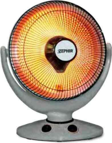 Zephir Stufa elettrica al Carbonio 900 Watt Oscillante Timer Bianco ZCRB36