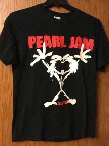 "Pearl Jam - ""Alive""  Black Shirt.  L."