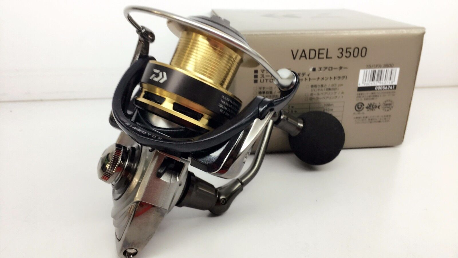 DAIWA VADEL 3500 MAG SEALED Spinning Reel MAGSEALED Fedex Priority 2day to USA