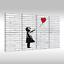 Quadro-su-Tel-Tela-via-Art-Banksy-Ragazza-con-Rosso-Palloncino-ad-Aria thumbnail 26