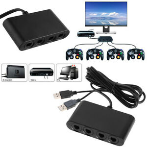 4-Port-NGC-Gamepad-Controller-to-USB-Converter-For-Nintendo-Wii-U-PC-Switch