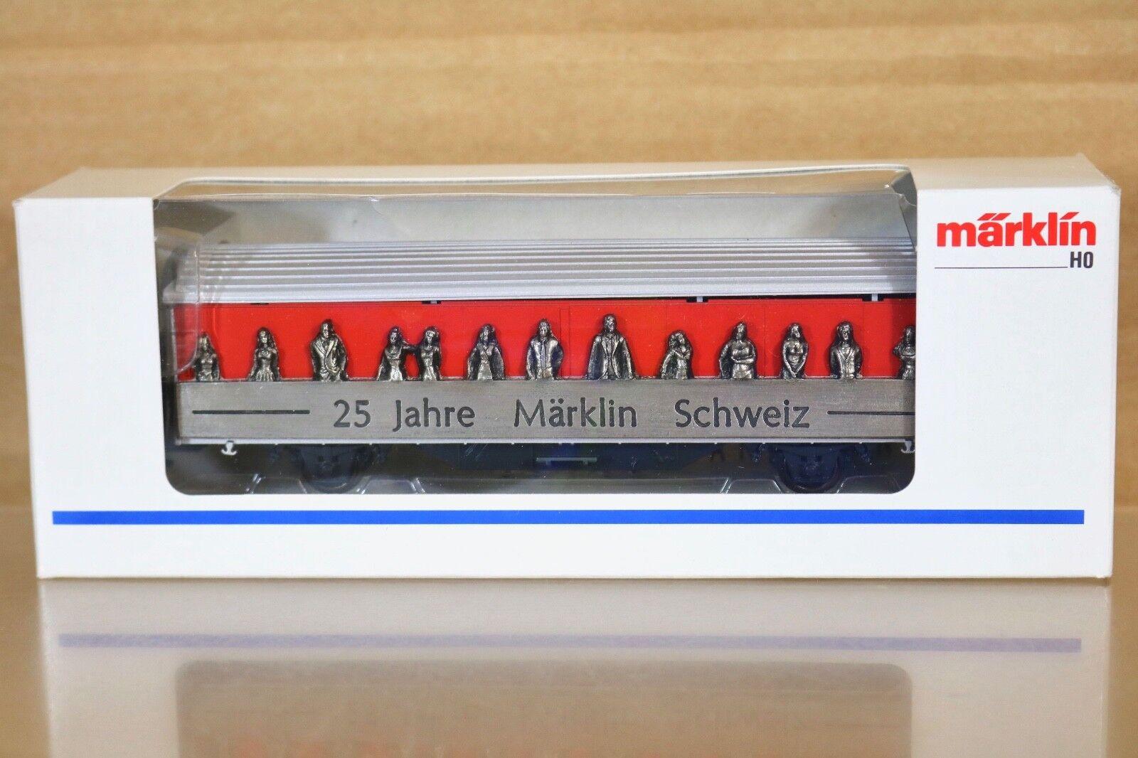 Marklin Märklin 4735,929 Sondermodell SBB Cff Hbils 25 Ans Schweiz Wagon