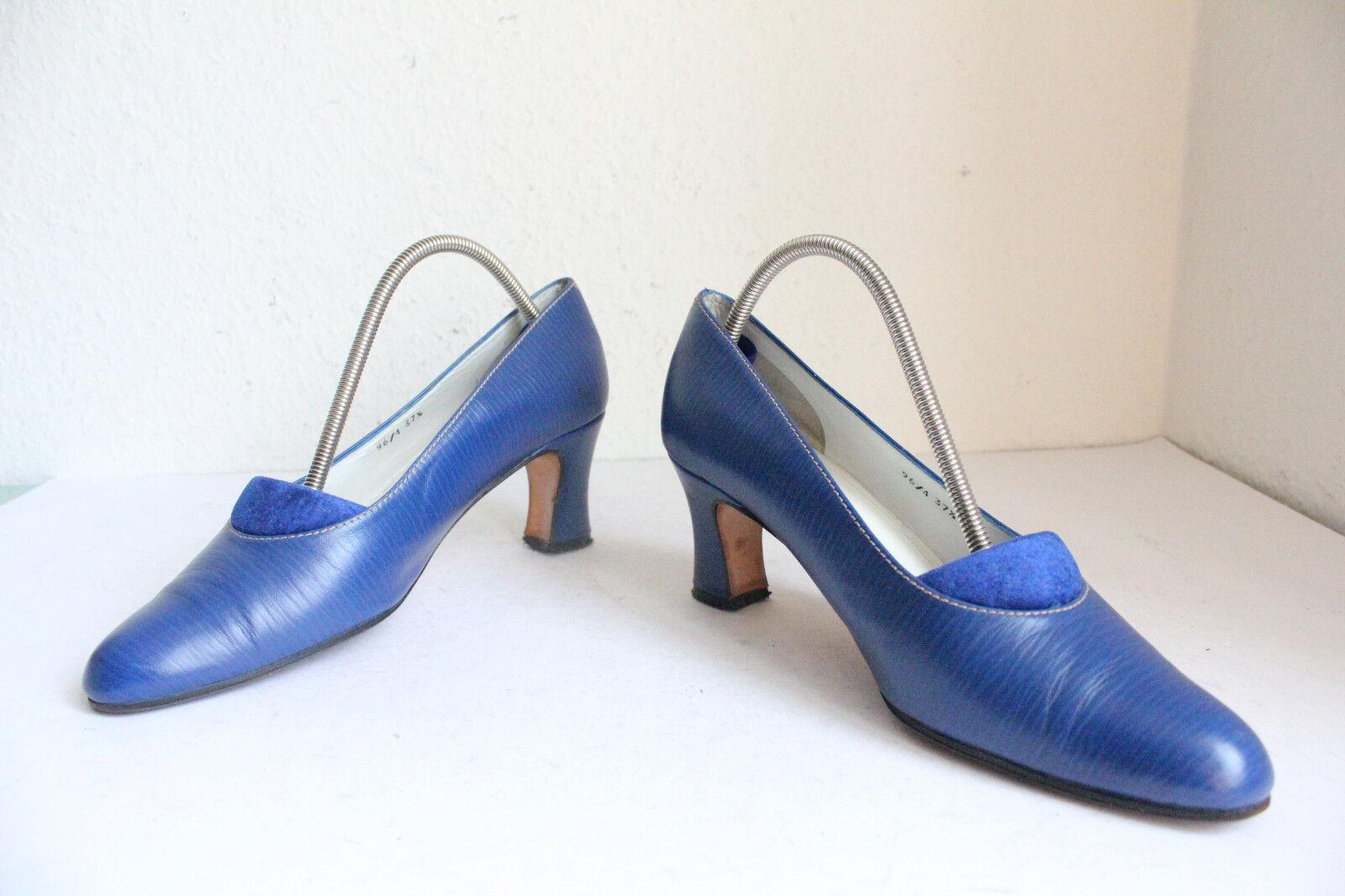 oropfeil by Dieter Dieter Dieter Kuckelkorn lujo zapatos de salón lleno cuero genuino azul eu 37, 5  orden ahora con gran descuento y entrega gratuita