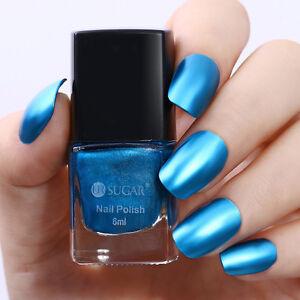 Detalles De 6 Ml Espejo Metálico De Esmalte De Uñas Efecto Azul Metal Barniz Ur Azúcar Manicura Hágalo Usted Mismo Ver Título Original