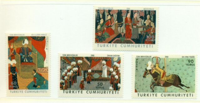 ARTE - ART TURKEY 1968 Miniature